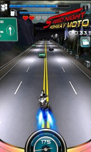 Speed Night Highway MOTO