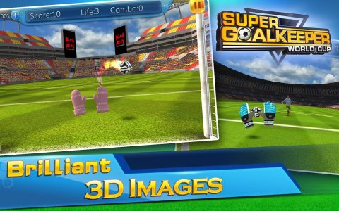 Super Goalkeeper - Soccer Cup