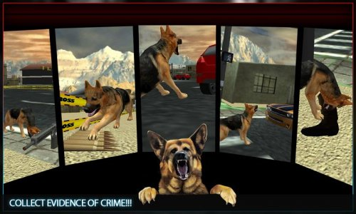 Town Police Dog Chase Crime 3D