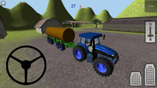 Tractor Simulator 3D: Manure