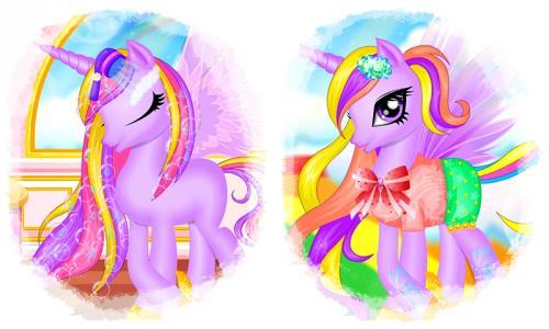 Unicorn Princess Hair Salon