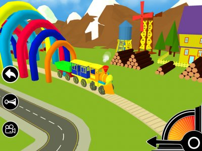 3D Fun Learning Toy Train Game For Kids & Toddlers