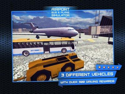 Airport Bus & Plane Simulator