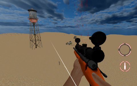 Amazing Sniper 3D FPS - Advance War Shooting Game