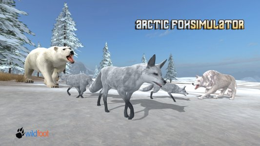 Arctic Fox Android Game APK (com wildfoot arctic fox) by Wild Foot