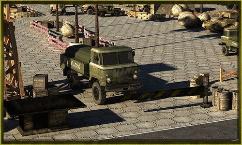 Army War Truck Simulator 3D
