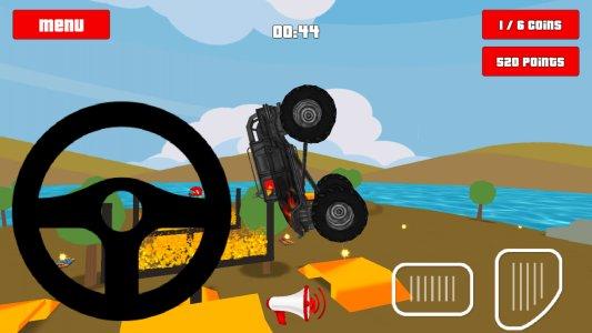 Baby Monster Truck Spiel: Auto