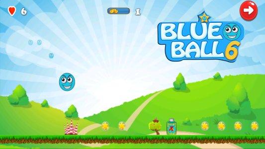 Blue Ball 6