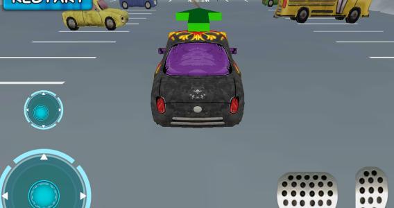 Car toon 3D car parking