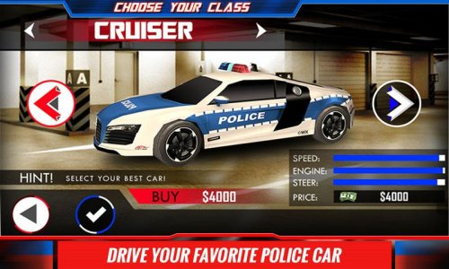City Police Car Driver Sim 3D