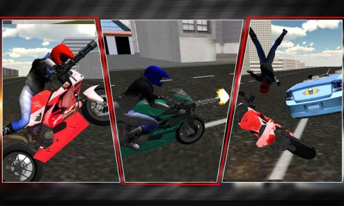 Crazy Moto Shooter San Andreas