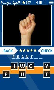 Finger Spell ASL