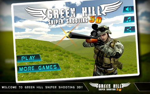 Green Hill Sniper Shooting