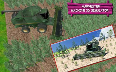 Harvester Machine 3D Simulator