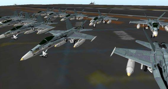 Airport 3D Jet plane parking