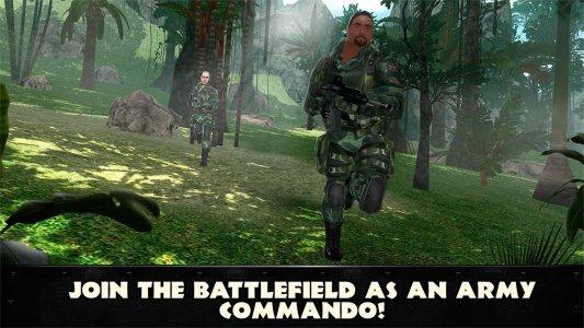 Dschungel Kommando 3D: Shooter