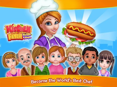 Kitchen Fever - Burger Shop
