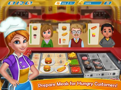 Kitchen Fever - Burger Shop