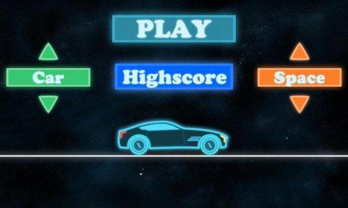Neon Car Racing - Hill Climb