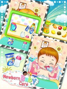 Newborn Baby Care: Girls Games