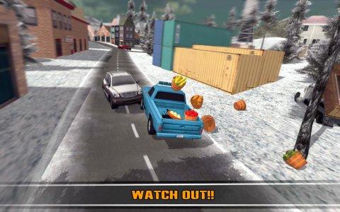 道路の雪トラックレジェンドオフ
