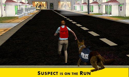 Police Dog Crime City Chase