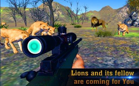 Real Lion Hunter