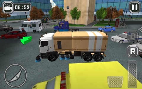 Road Sweeper City Driver 2015