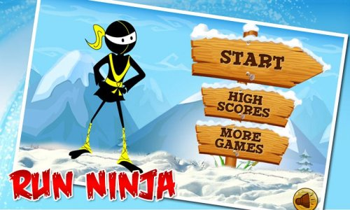 Angry Ninja - Running Games
