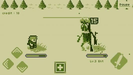 Timing Hero : Retro Fighting Action RPG