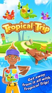 Tropical Trip - Match 3 Game