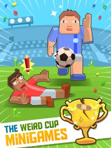 Weird Cup - Soccer and Football Crazy Mini Games