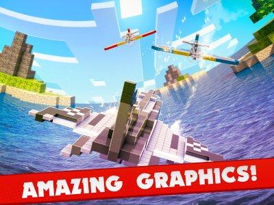 Absolute Block Plane Cube Wars