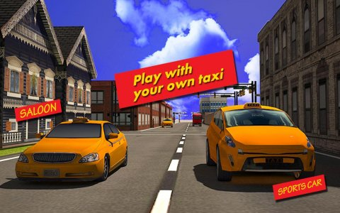 Airport Taxi Driver City Rush