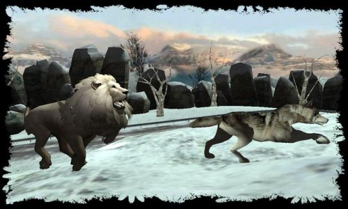 Angry Lion Wild Attack Sim 3D