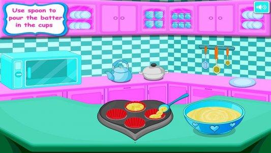 Cupcakes Baking - Jeu de cuisine et de décoration
