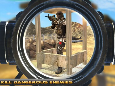 Bravo Sniper: Death Shooter 3D