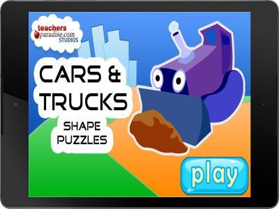 Cars & Trucks Kids Puzzle Game