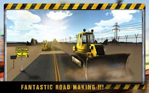 City Road Construction Crane