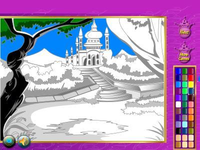 Coloring Princess Games