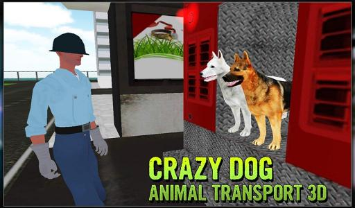 Crazy Dog Animal Transport 3D