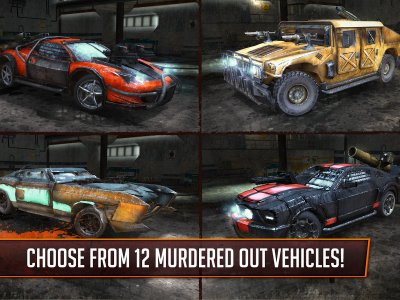 Death Race ® - Game Shooter di Mobil Balapan
