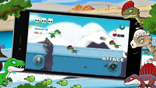 Dinosaur Battle Fighting Game