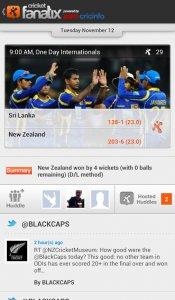 fanatix cricket - ESPNcricinfo