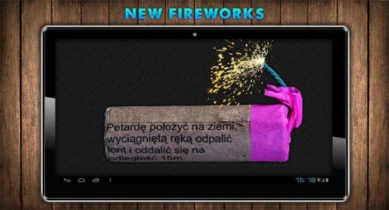 Fireworks Bang New Year