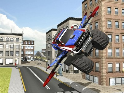 Flying Monster Truck games