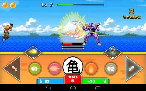 Goku Saiyan Warrior