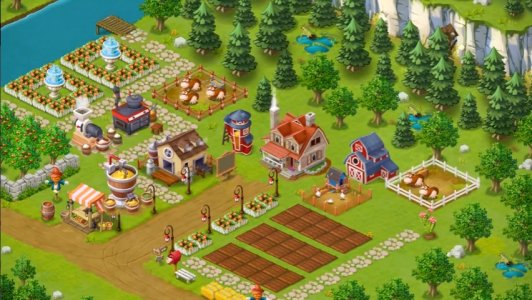 Happy Farm: Candy Day