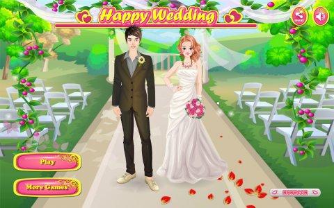 Happy Wedding - Girl Games