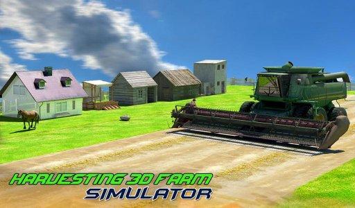 Harvesting 3D Farm Simulator